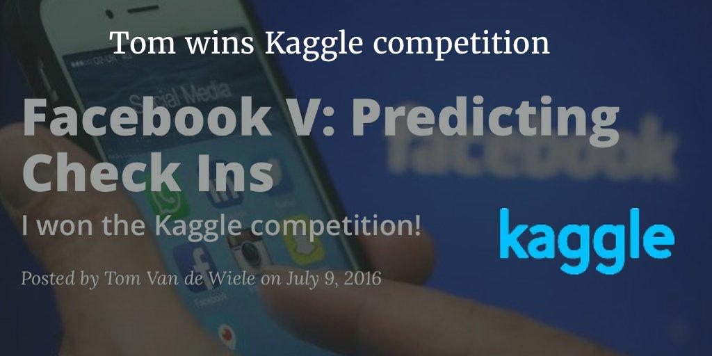 tom wins kaggle