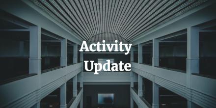 activity update